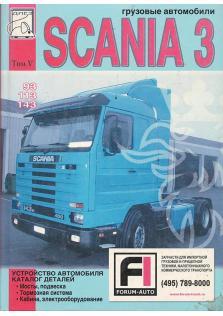 Каталог деталей автомобиля Scania 3 (93, 113, 143)